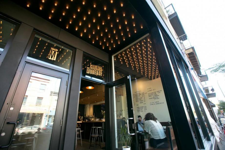 Le Cinéma Moderne est situé au 5150, boulevard... (Photo François Roy, La Presse)