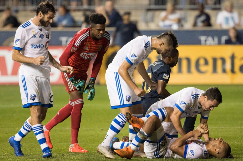 L'Impact a remporté une victoire convaincante de 4-1... (Photo Bill Streicher, USA Today Sports)