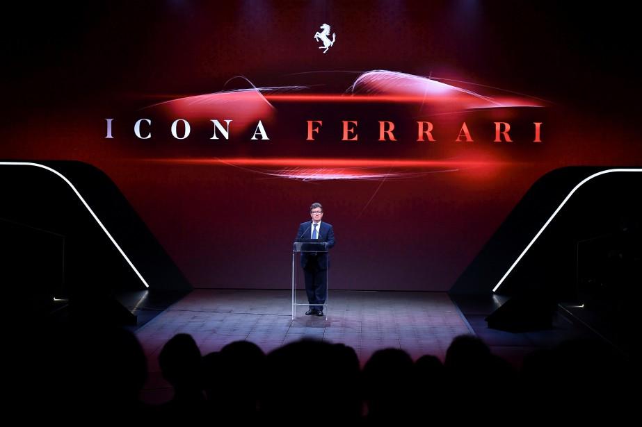 Le nouveau PDFG de Ferrari, Louis Camilleri, a... (photo Ferrari, via REUTERS)