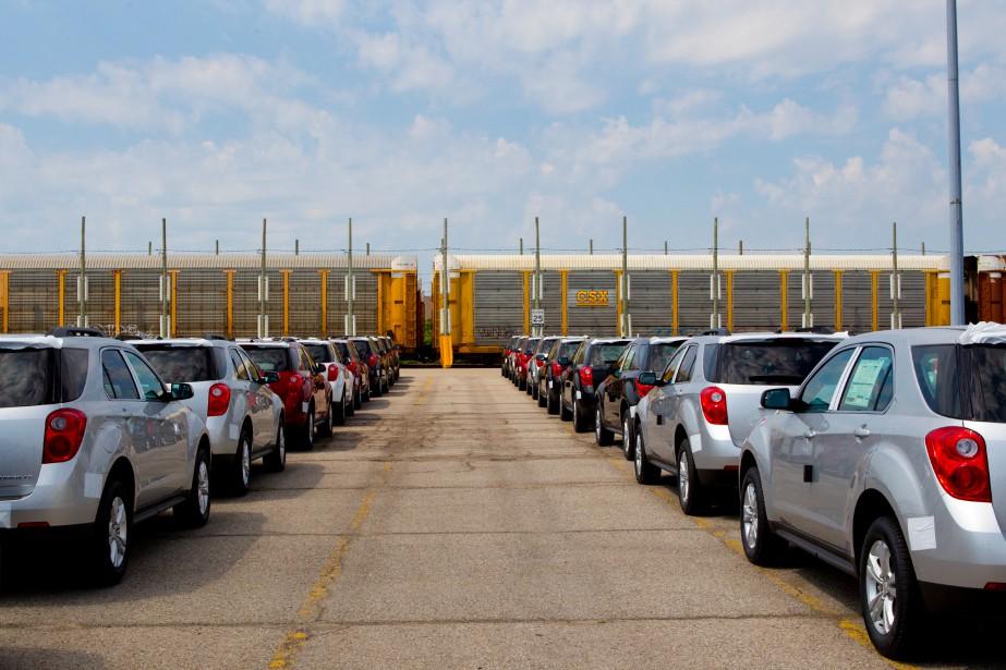 Le gain dans l'industrie du matériel de transport... (La Presse NYT)