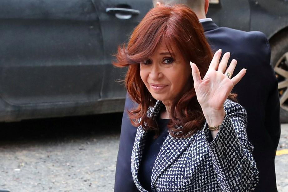 Cristina Kirchner, sénatrice et protégée à ce titre... (Photo Marcos Brindicci, Reuters)