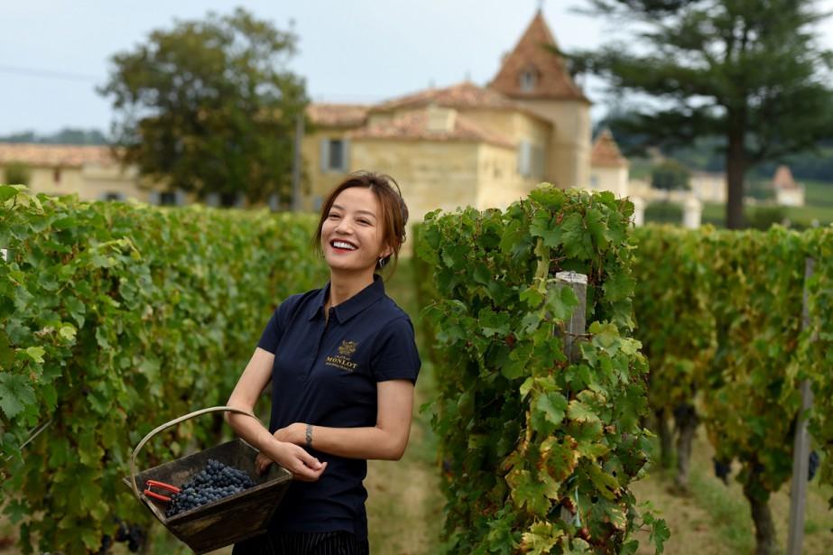 La star de cinéma Zhao Wei a fait... (Photo AFP)