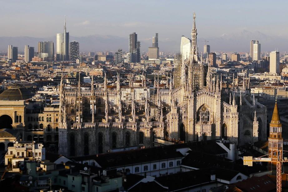 La ville de Milan... (Photo Luca Bruno, archives AP)