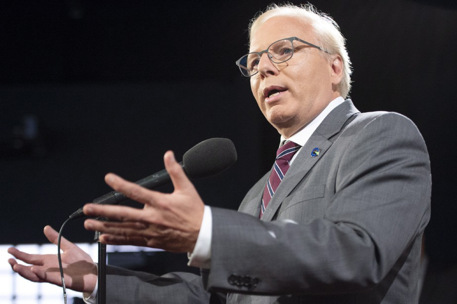 Le chef du Parti québécois, Jean-François Lisée... (PHOTO Ryan Remiorz, LA PRESSE CANADIENNE)