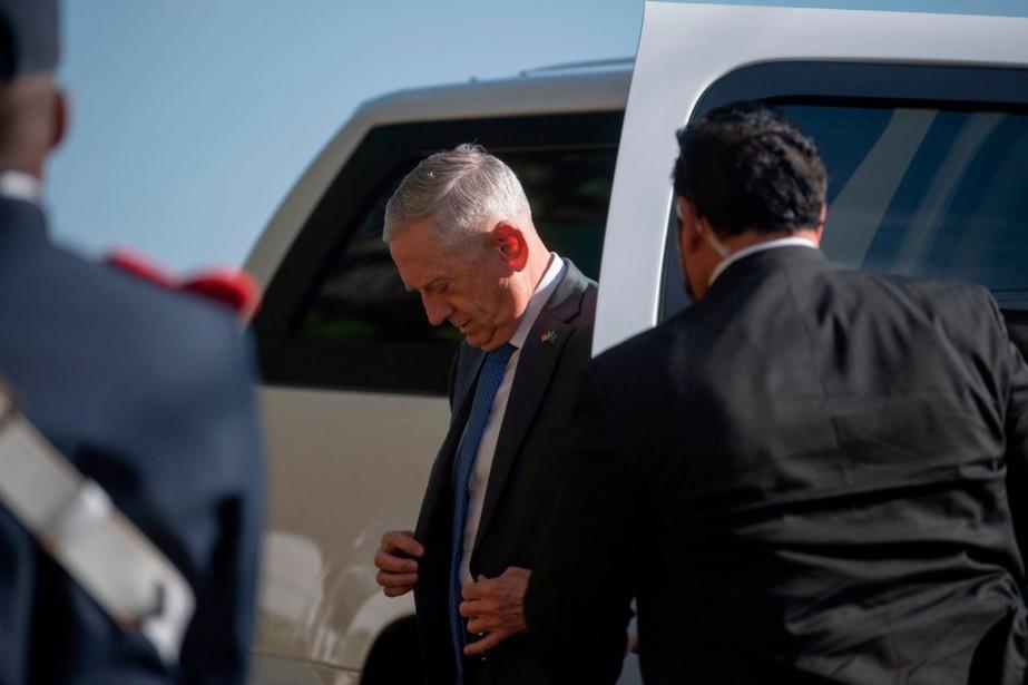 Jim Mattis déteste aborder la question de ses... (PHOTO REUTERS)