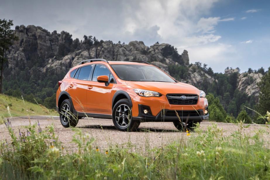 Le rouage à prise constante du Subaru Crosstrek est plus efficace encore que celui proposé sur l'ensemble de ses rivaux. (Toutes les photos Subaru)