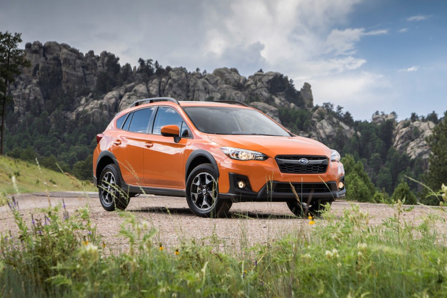 Subaru Crosstrek 2018. Photo fournie par Subaru...