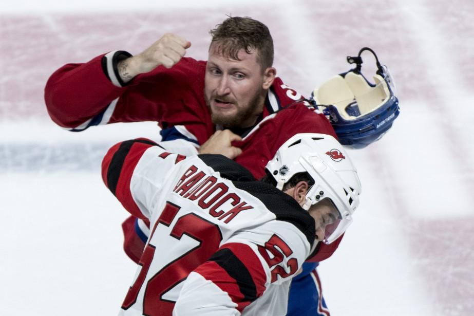 Nicolas Deslauriers s'est fracturé deux os de la... (Photo Paul Chiasson, La Presse canadienne)