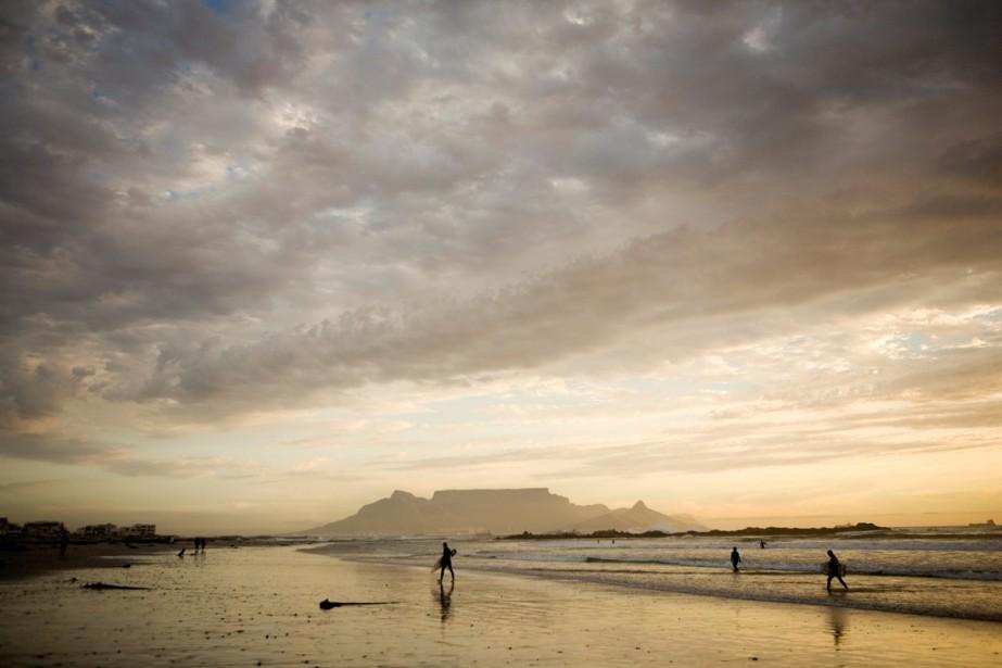 Les plages de Cape Town... (Photo archives The New York Times)