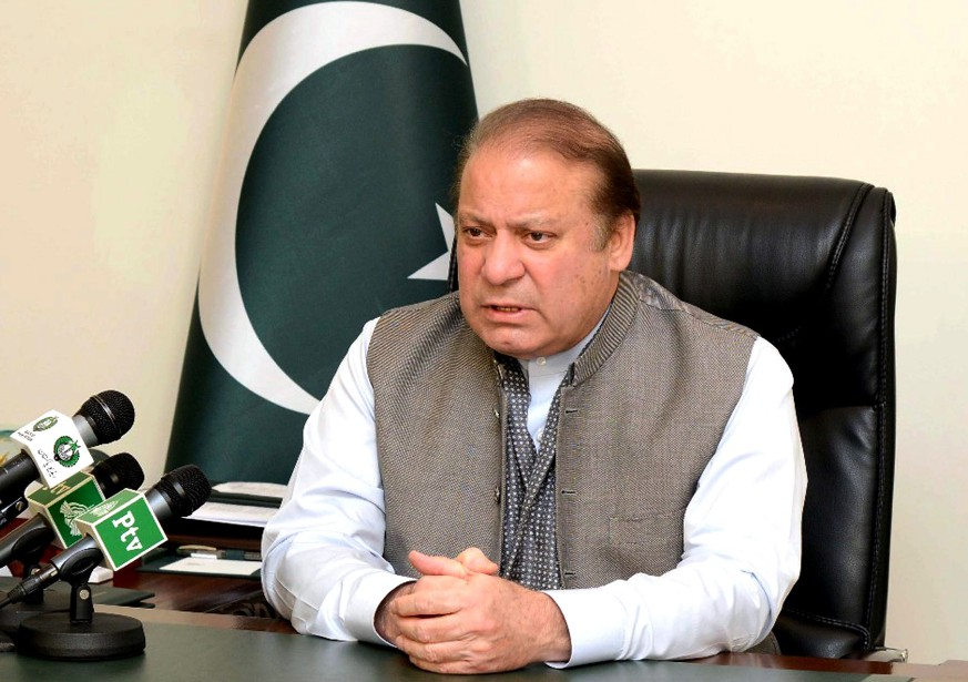Nawaz Sharif avait été destitué en juillet2017 de... (Photo archives Agence France-Presse)