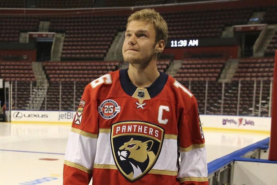 Le nouveau capitaine des Panthers de la Floride,... (Photo AP)