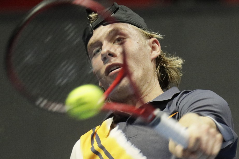 Denis Shapovalov... (Photo Dmitry Lovetsky, AP)