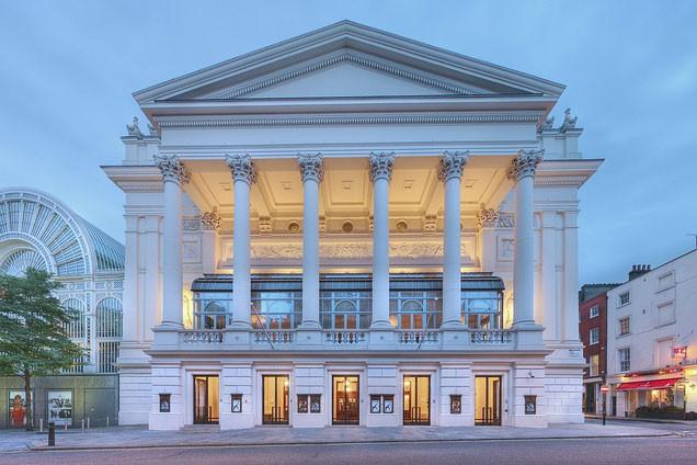 Le Royal Opera House de Londres... (Photo tirée du site web du Royal Opera House)