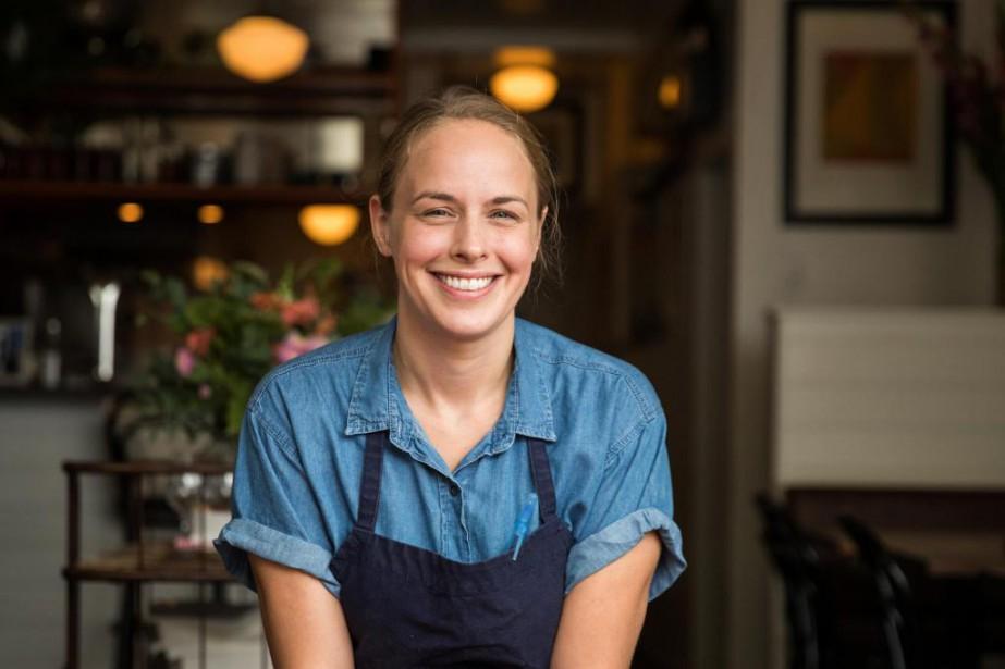 Jessica Noël, chef au bar à vin MonLapin,... (Photo Hugo-Sébastien Aubert, La Presse)