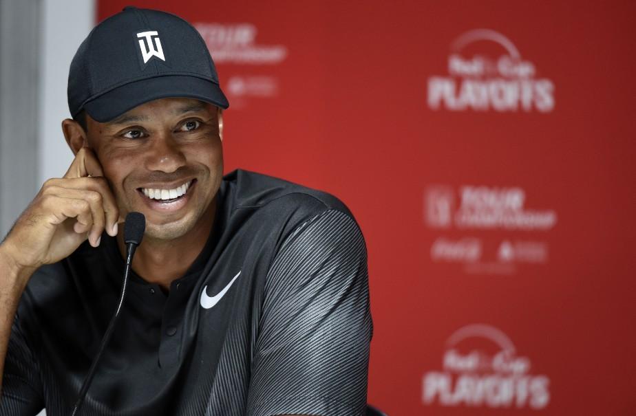 Tiger Woods fait partie des 30 participants au... (Photo John David Mercer, USA TODAY Sports)