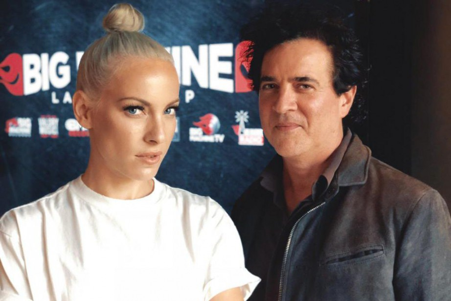 Marie Mai pose avec Scott Borchetta, prolifique producteur de... (Photo fournie par Marie Mai)