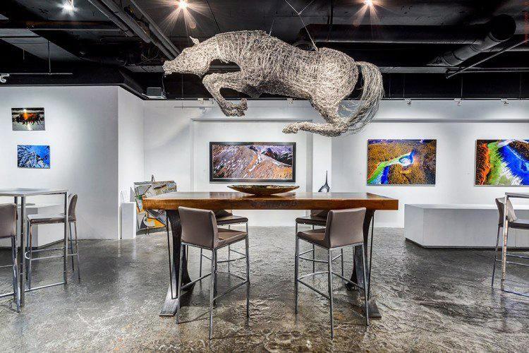 La galerie Gerry Thomas... (Photo La Presse Canadienne)