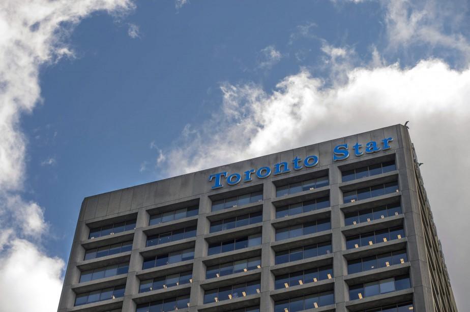 Les bureaux du Toronto Star à Toronto.... (Photo La Presse Canadienne)