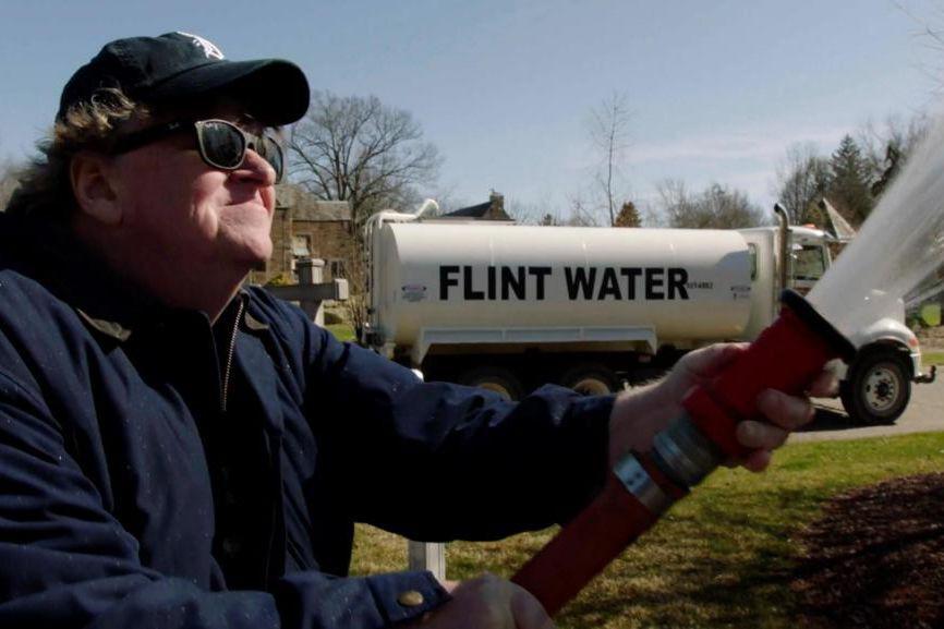 Michael Moore, réalisateur de Fahrenheit 11/9.... (Photofournie parTVA Films)