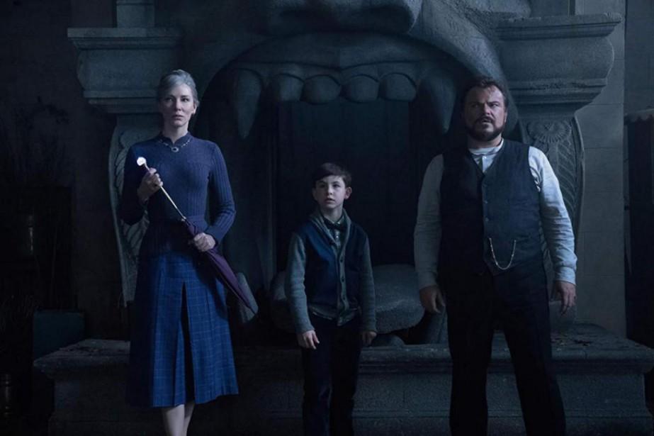 Cate Blanchett, Owen Vaccaro et Jack Black dans... (Photo fournie par Universal)