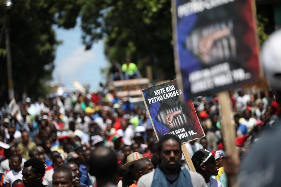 Corruption en Haïti: des manifestants réclament une enquête internationale | Caraïbes