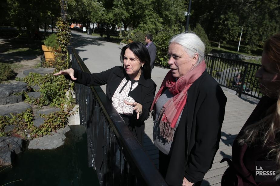 La co-porte-parole de Québec solidaire Manon Massé a... (Photo Martin Chamberland, La Presse)