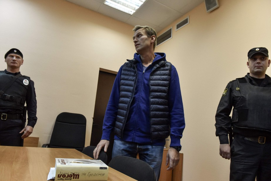 Alexeï Navalny a été jugé en soir par... (PHOTO VASILY MAXIMOV, AGENCE FRANCE-PRESSE)