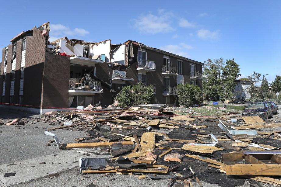 Des tornades ont balayé la région de Gatineau,... (Photo Robert Skinner, La Presse)