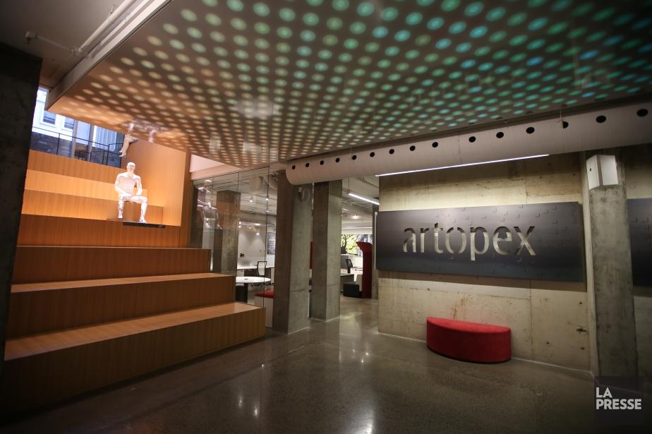 Entreprise familiale fondée en 1980, Artopex compte plus... (PHOTO Martin Chamberland, archives LA PRESSE)