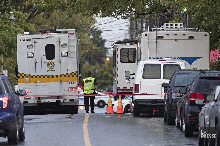 La police de Laval a reçu, hier soir,... (Patrick Sanfaçon, La Presse)
