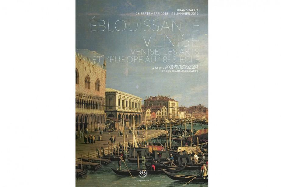 L'affiche de l'exposition... (Photo tirée du site web du Grand Palais)