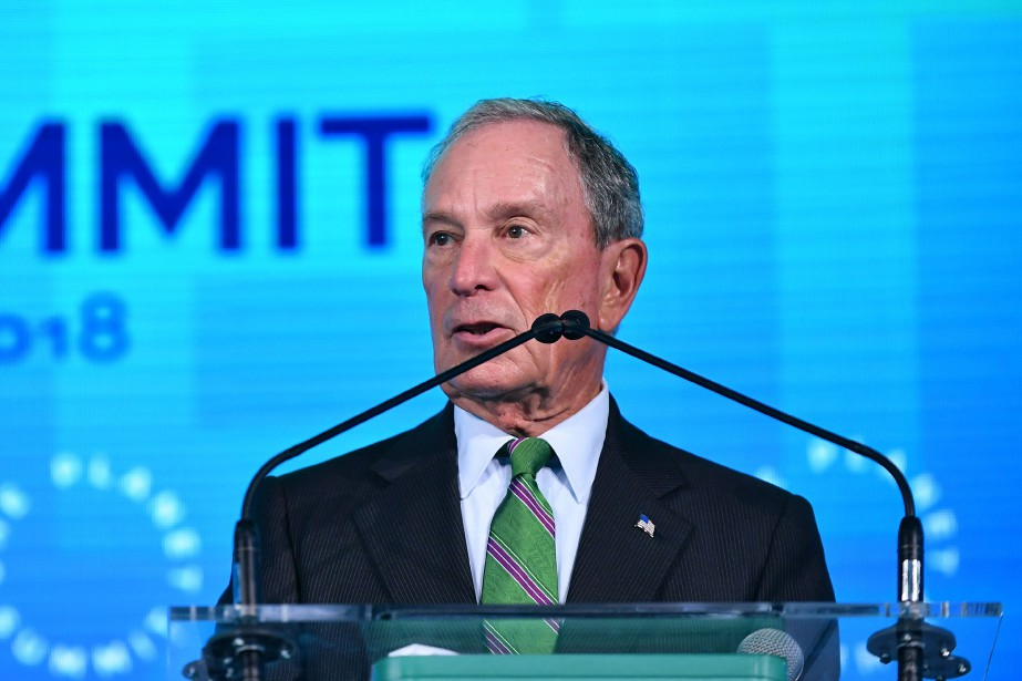 Michael Bloomberg... (Photo MANDEL NGAN, AFP)