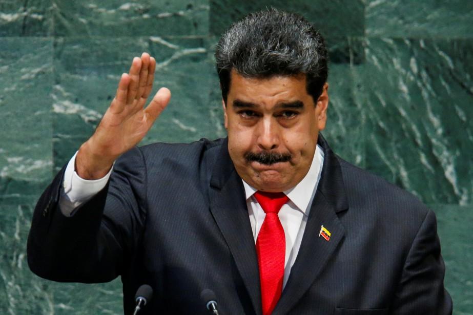 Nicolas Maduro s'est s'est exprimé mercredi à la... (PHOTO REUTERS)