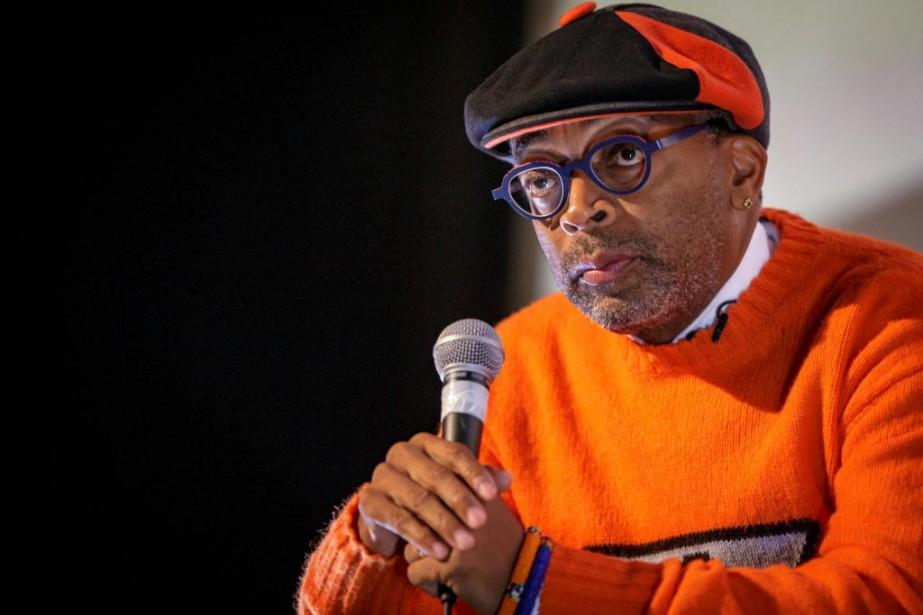 Le réalisateur Spike Lee a donné une conférence... (Photo OlivierJean, La Presse)