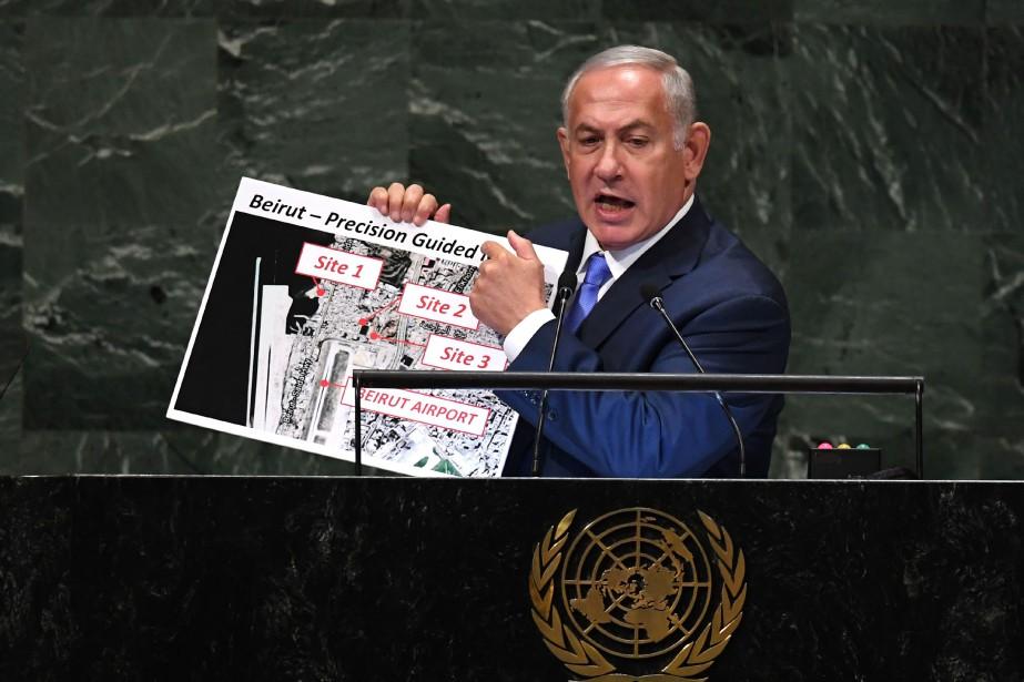 Le premier ministre israélien Benyamin Nétanyahou... (Photo TIMOTHY A. CLARY, AFP)