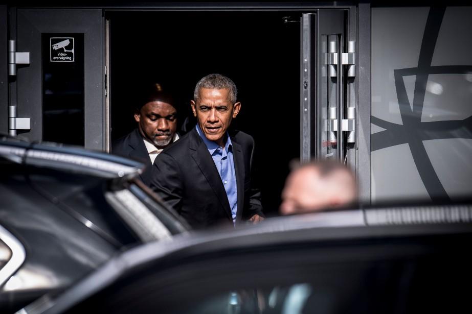 Barack Obama était invité à parler devant un... (Photo MADS CLAUS RASMUSSEN, Agence France-Presse)