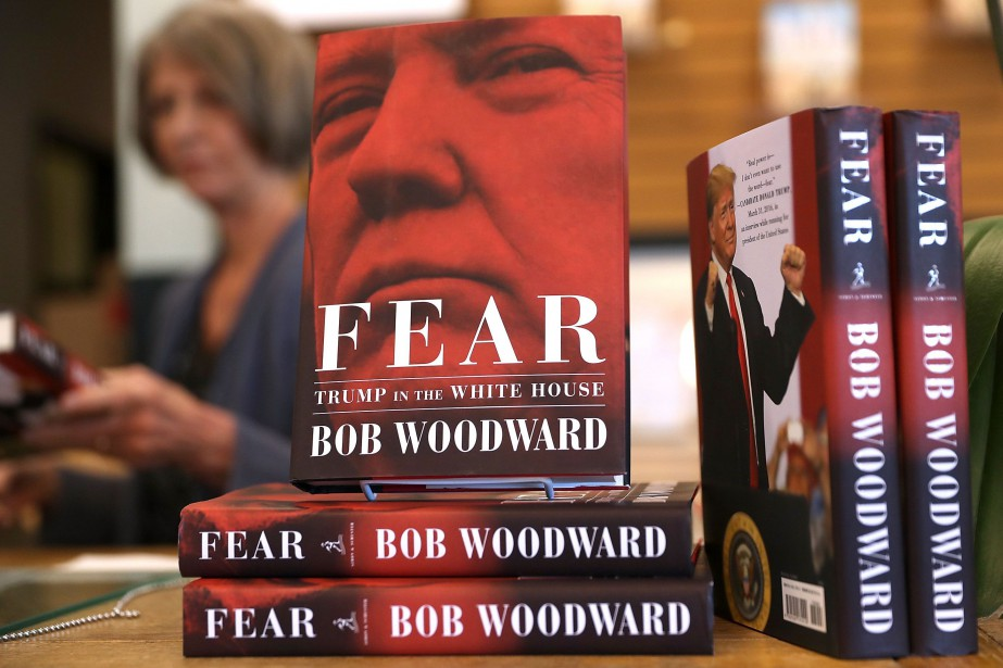 Fear: Trump in the White House, qui s'appellera... (Photo JUSTIN SULLIVAN, archives AFP)