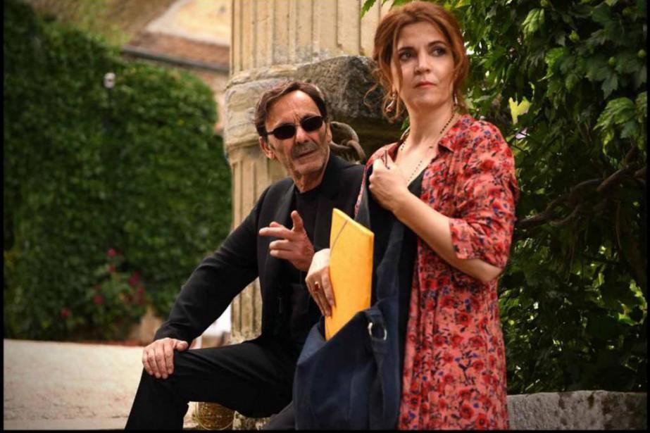 Jean-PierreBacri et AgnèsJaoui dans Place publique, un film... (PHOTO FOURNIE PAR AxiaFilms)