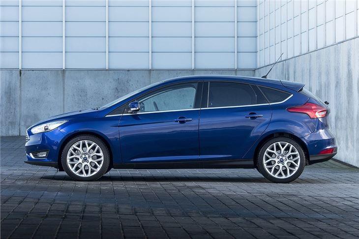 La Ford Focus 2014 de M. Lachance est... (Photo Ford)