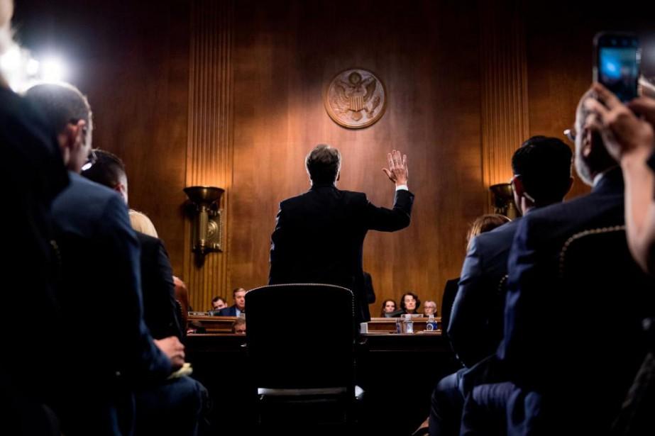 Candidat à un poste à la Cour suprême... (Photo Tom Williams, Agence France-Presse)