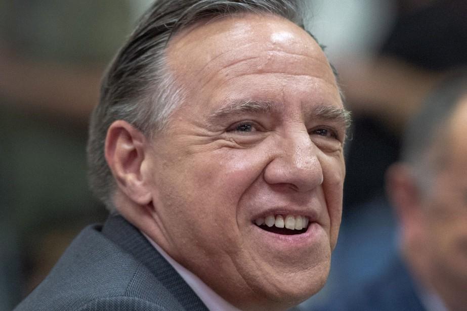 Le chef de la Coalition avenir Québec, François... (Photo Ryan Remiorz, LA PRESSE CANADIENNE)