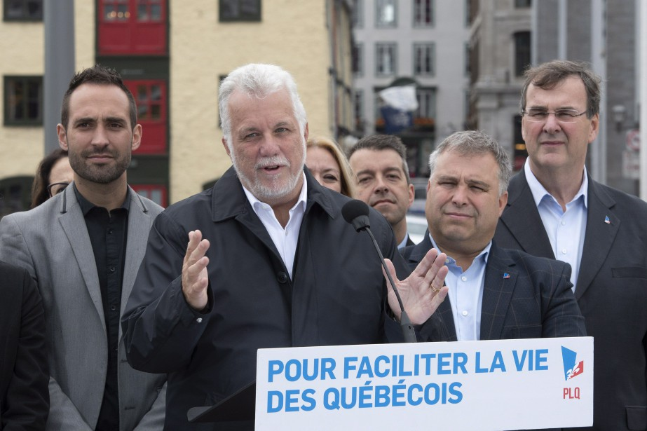 Le chef du Parti libéral du Québec, Philippe... (PHOTO Jacques Boissinot, ARCHIVES LA PRESSE CANADIENNE)