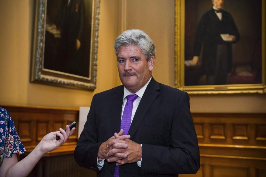 Le chef libéral intérimaire estime que le message... (Photo Christopher Katsarov, La Presse canadienne)