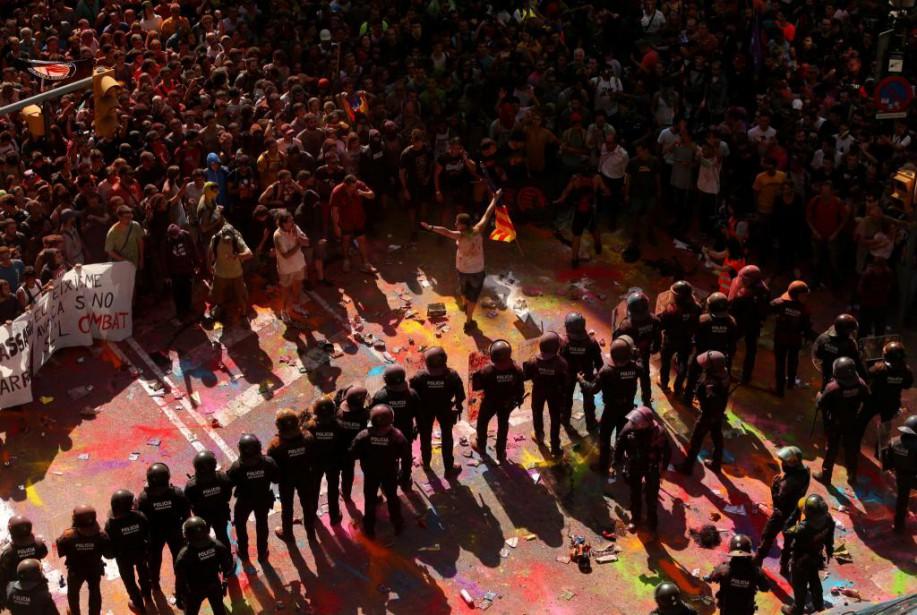 Un an après le référendumsur l'indépendance de la... (Photo Jon Nazca, Reuters)