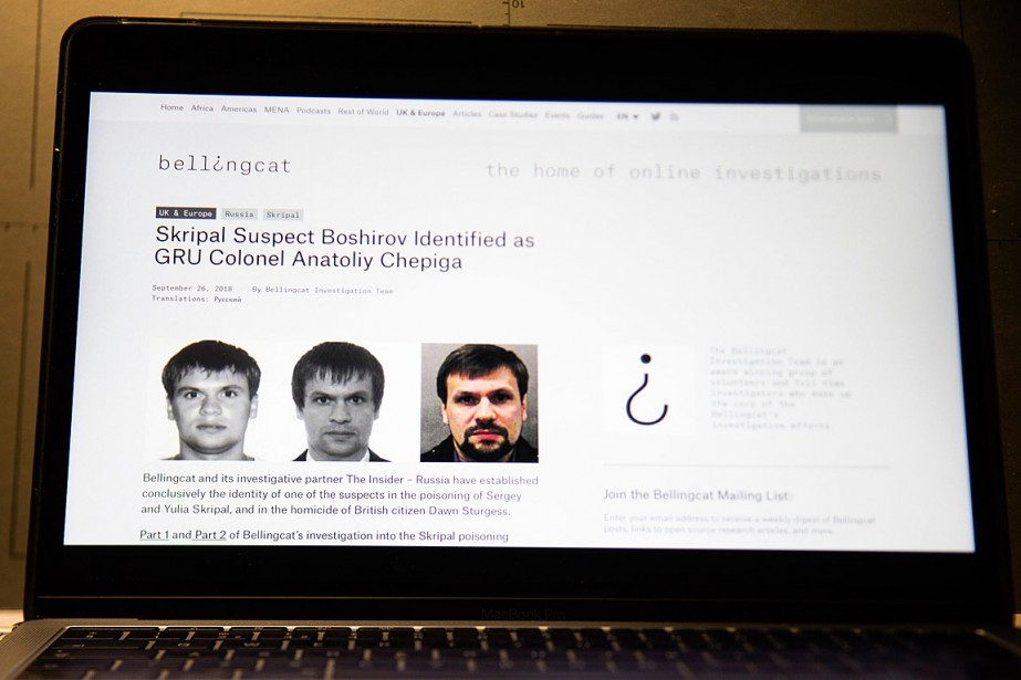 Le site Bellingcata rapporté mercredi que l'un des... (PHOTO ALEXANDER ZEMLIANICHENKO, ARCHIVES ASSOCIATED PRESS)