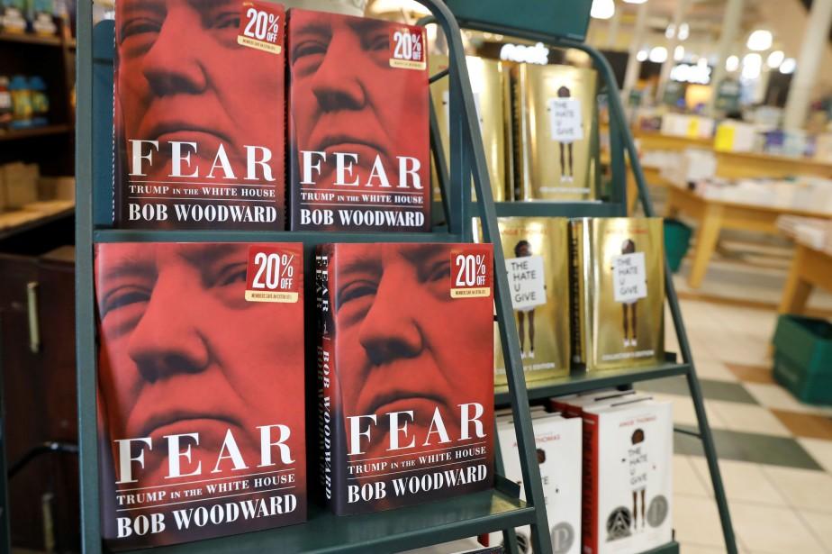 En neuf mois, trois livres sur l'administration Trump,Le... (Photo Shannon Stapleton, REUTERS)