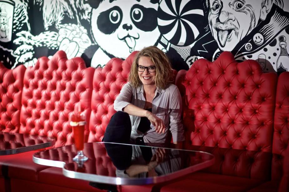 La comédienne, chanteuse et animatrice AnnieBrocoli a récemment... (Photo André Pichette, Archives La Presse)