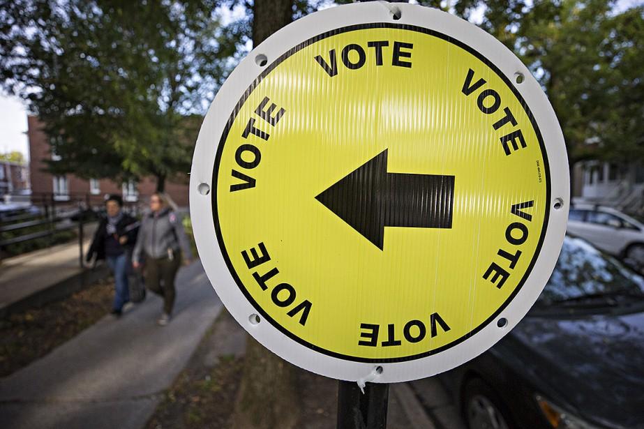 Les citoyens du Québec se prononcent aujourd'hui lors... (PATRICK SANFAÇON, LA PRESSE)