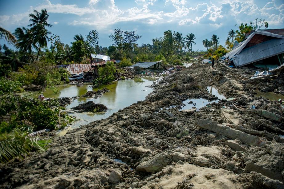 Le tsunami n'est pas arrivé jusqu'à Petobo, situé... (Photo Bay ISMOYO, AFP)