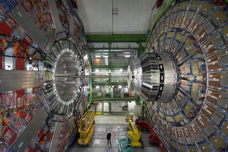 Selon le CERN, le pourcentage de femmes travaillant... (Photo Richard Juilliart, archives AFP)